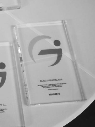 Prémio de melhor empresa do Norte de Portugal - Blisq Creative