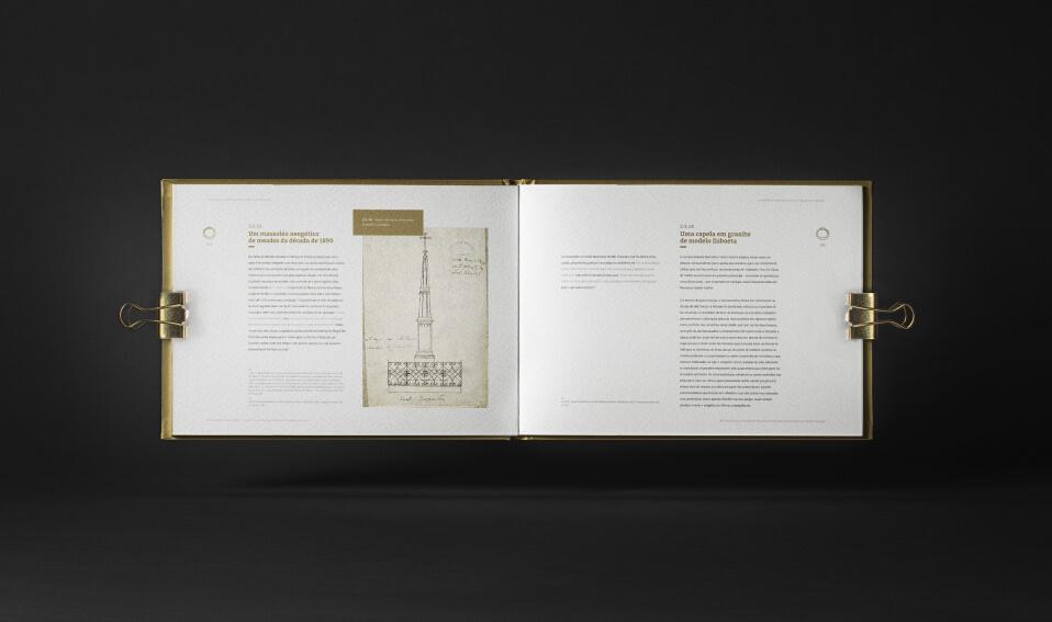 Livro dos cemitérios de Viana do Castelo aberto
