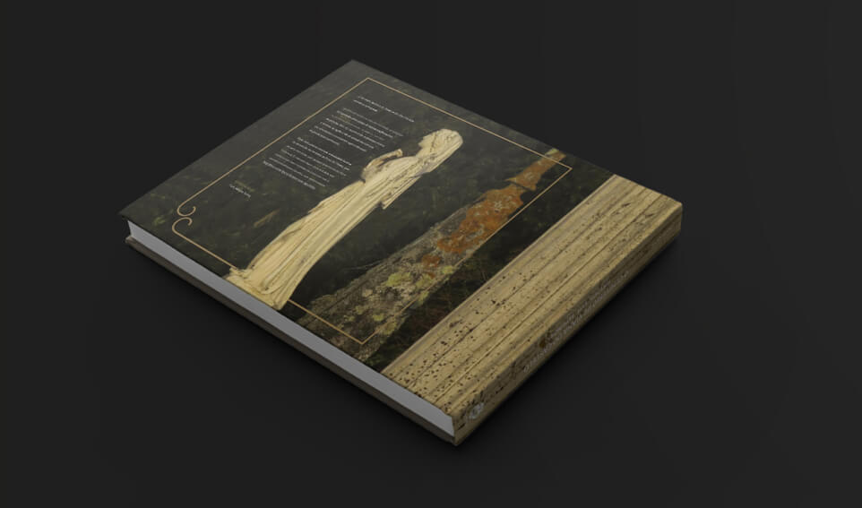 Contracapa do livro dos cemitérios de Viana do Castelo