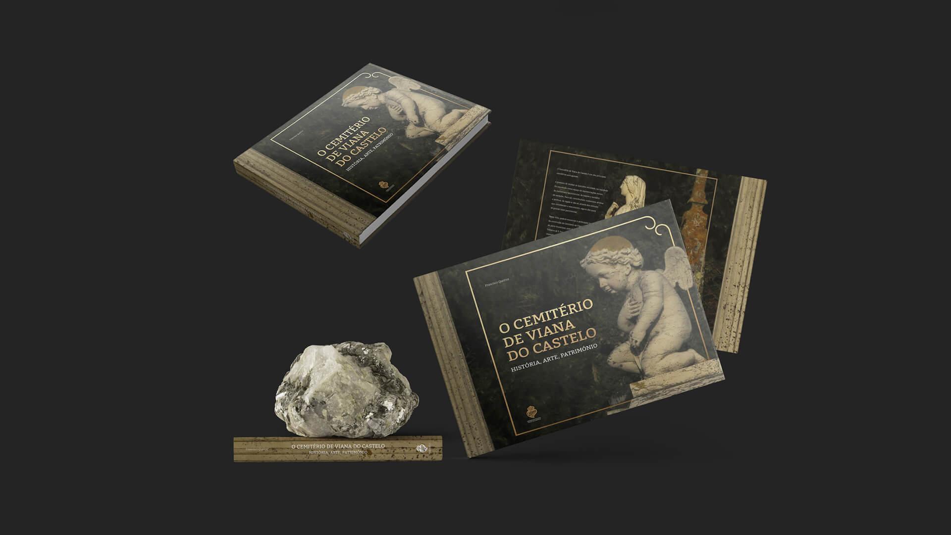 livro dos cemitérios de Viana do Castelo