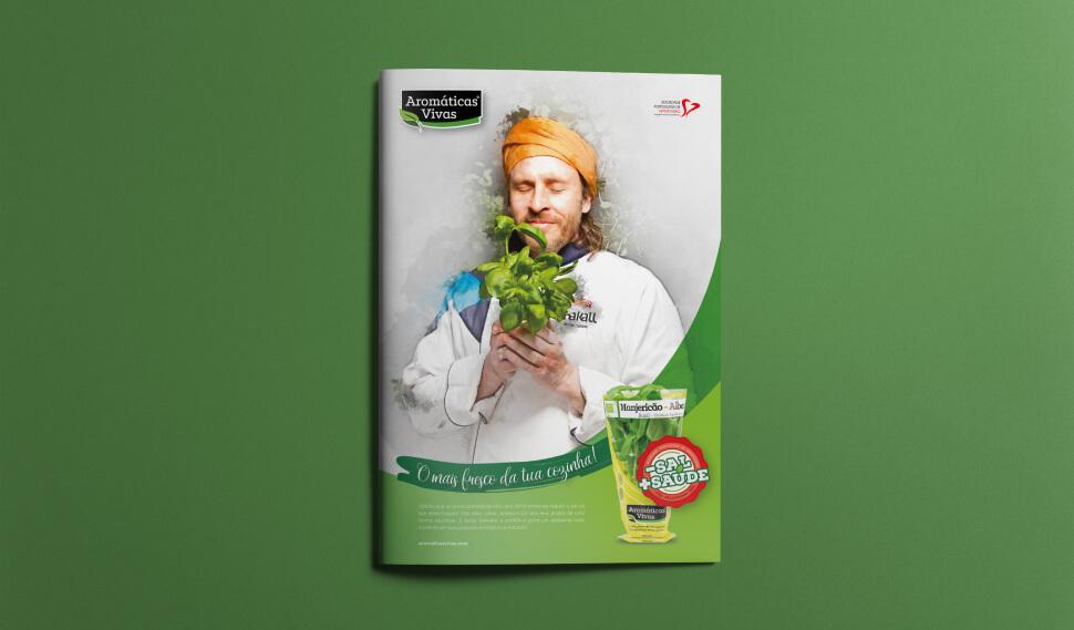 Brochura das Aromáticas Vivas e Chakal