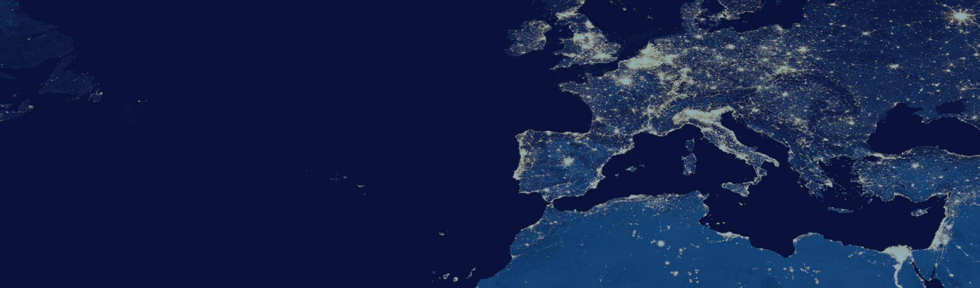 Imagem satélite do mundo
