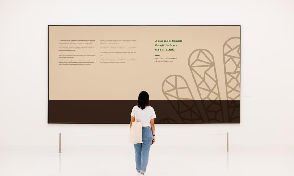 Exposição do Museu de Santa Luzia