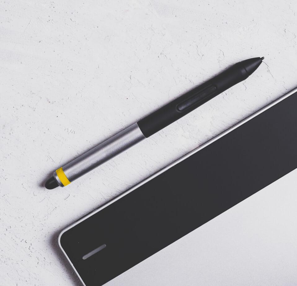 Caneta para design gráfico