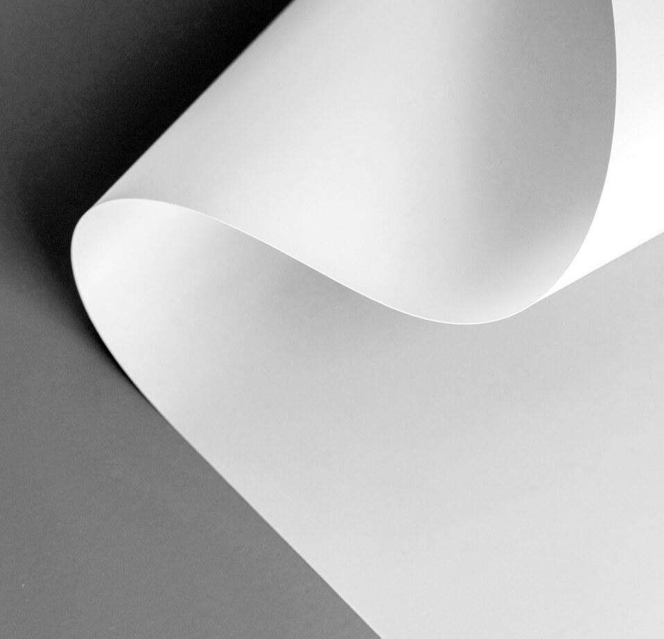 Background folha branca dobrada