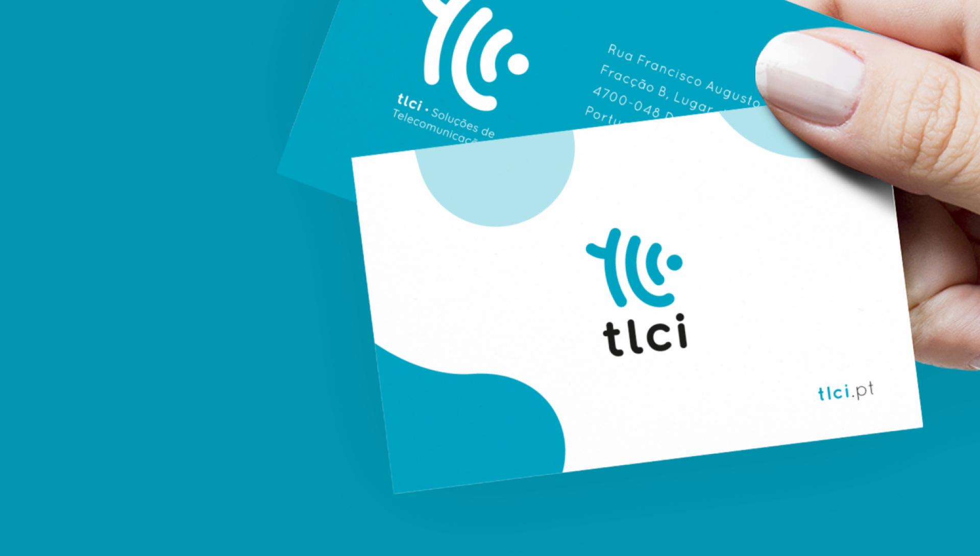 Cartão de visita TLCI