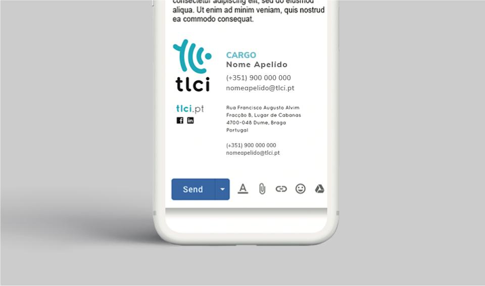 Assinatura de e-mail TLCI
