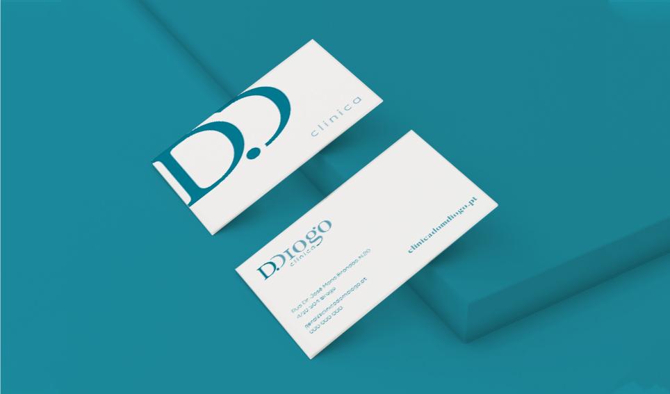Cartão de visita Clínica D. Diogo