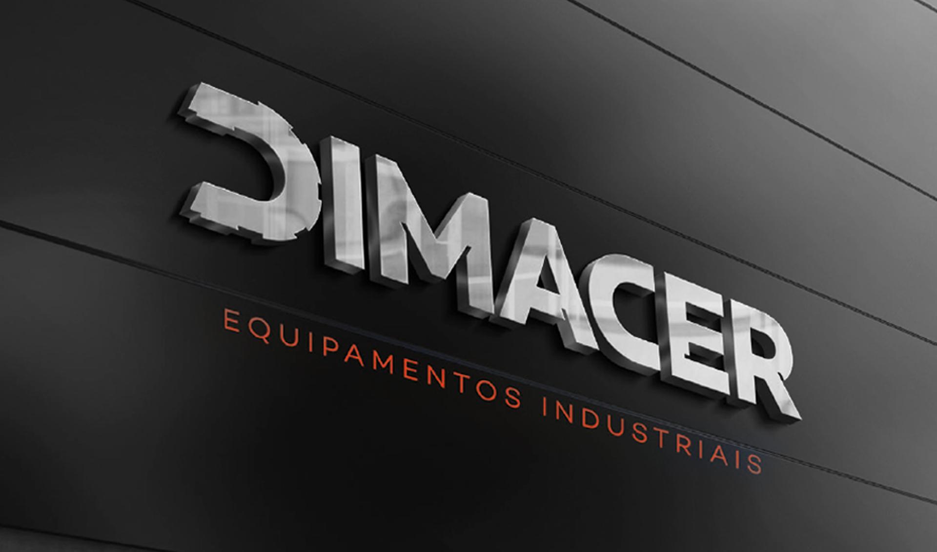 Branding Dimacer equipamentos industriais