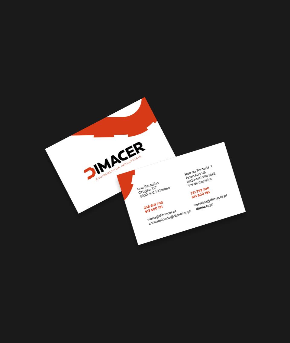 Cartão de visita Dimacer