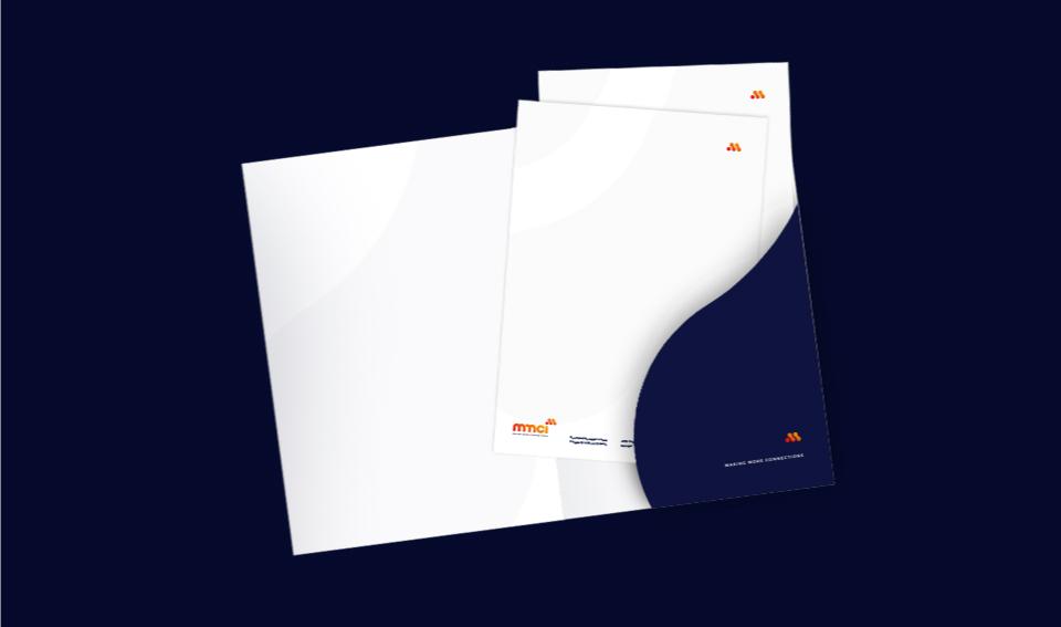 Capa e papel de carta MMCI