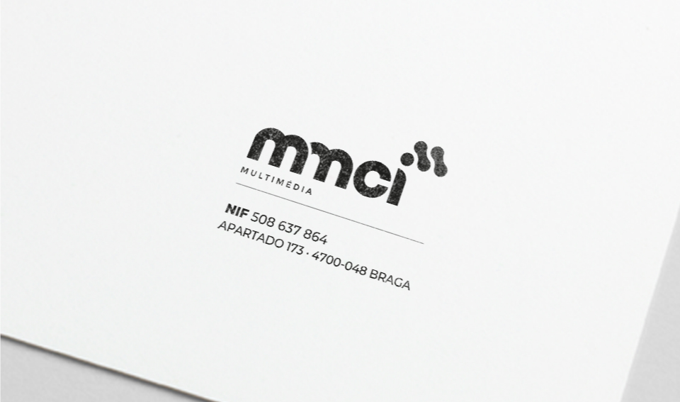 Detalhe de papel de carta MMCI