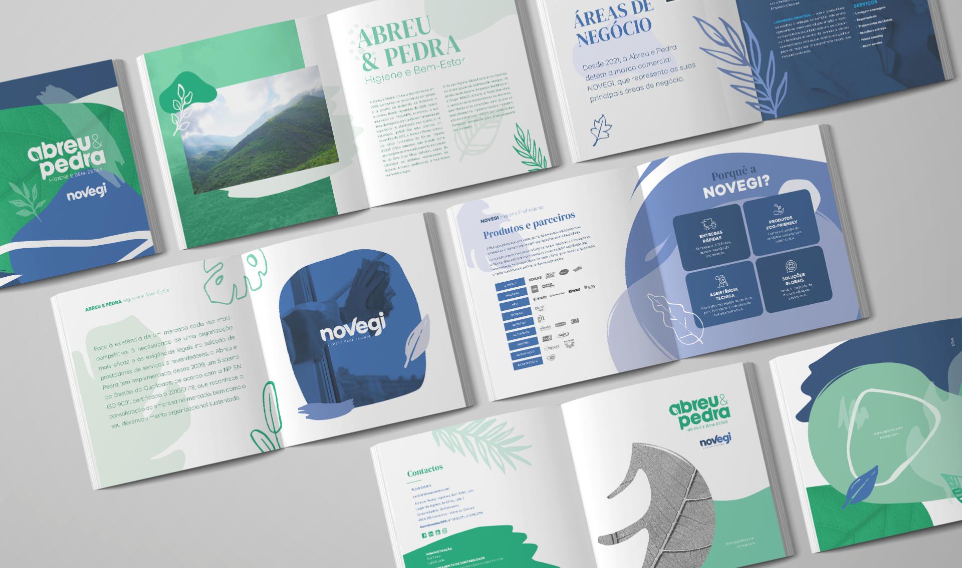 Páginas de catálogo Novegi