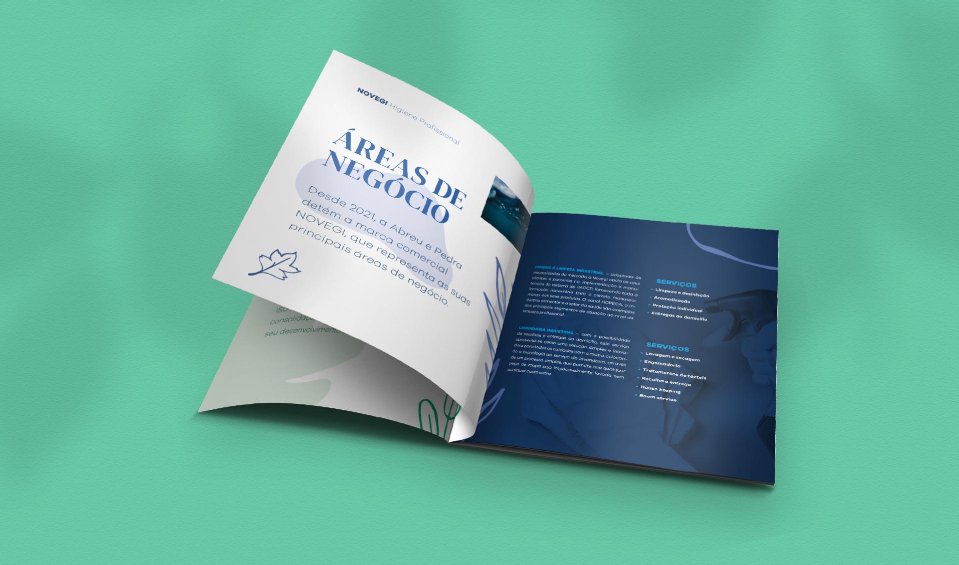 Catálogo Novegi aberto