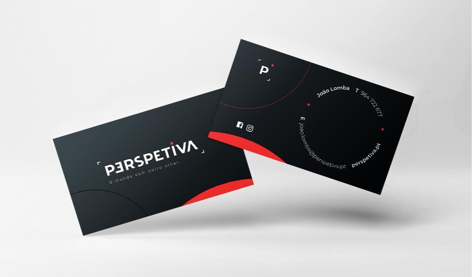 Perspetiva cartão de visita