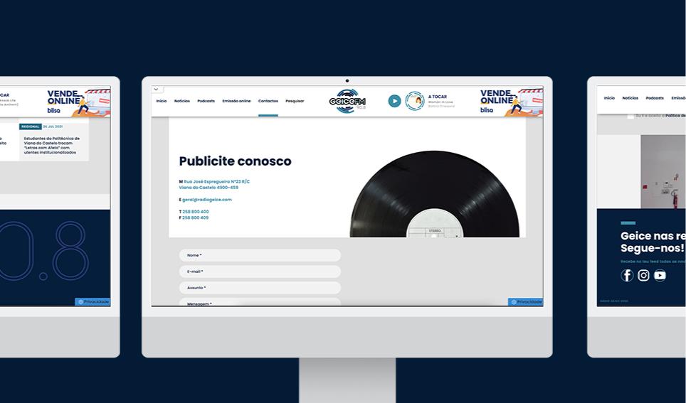 Website Radio Geice FM