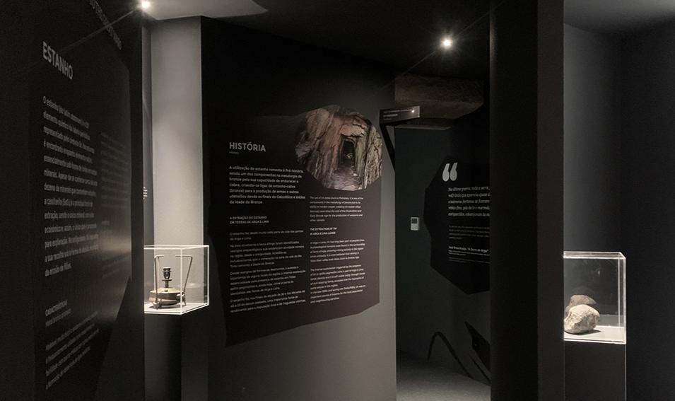 Interior do museu mineiro