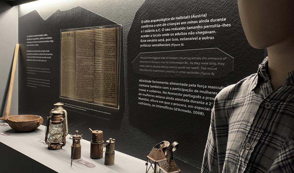 Património do Museu Mineiro de Arga