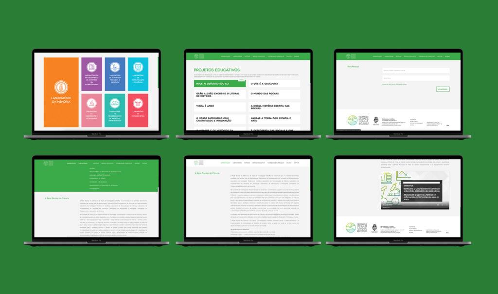 Rede Escolar de Ciência - Laboratório da Memória, plataforma online.